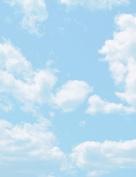 Clouds Letterhead Paper