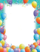 Masterpiece Party Letterhead - 8.5 x 11 - 100 Sheets