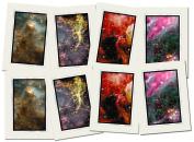 Hubble Telescope, Blank Note Cards, Set HRH3