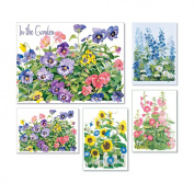 In the Garden - Box Set of 20 Assorted Note Cards and Envelopes