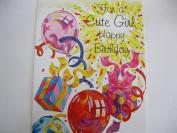 For a Cute Girl Happy Birthday