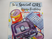 To a Special GIRL Happy Birthday