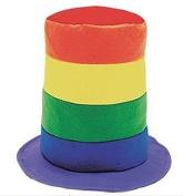 Rainbow Stovepipe Hats (1 dz)
