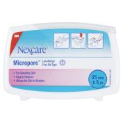 Nexcare Micropore 2.5 cm x 5 Metre Surgical Tape Dispenser