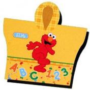 Elmo Hooded Rain Poncho - Sesame Street Elmo Yellow Vinyl Hooded Rain Poncho
