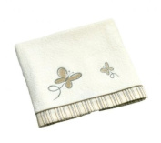 Be Be's Collection - terrycloth towel - butterfly - brown 70x120