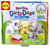Cuckoo Alex Rub A Dub Dirty Dogs In The Tub Bath Toy