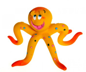 Momma Octopus Natural Rubber Bath Toy