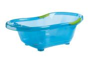 dBb Remond 306006 Translucent Bathtub with Plughole and Non-Slip Handles Blue