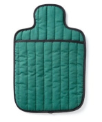 Hotties Quilted Microwavable Hot Water Bottle - Emerald Green