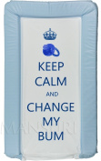 Keep Calm And Change My Bum Baby Changing Mat Baby Padded Luxurious Comfortable