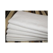 """6 Terry Towelling Baby Nappies 100% Cotton Supreme Quality 61 cmx 61 cm / 24""""x24"""""""
