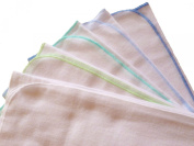 Baby Flannel Sheets soft and cuddly 80/80 cm -Nappies 5 Pack Boy