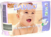 Bambo Newborn Nappies single bag