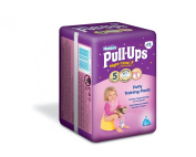 Huggies Night-Time Pull-Ups Disney Princess Design Size 5 (24-50 lbs/11-18 kg) Nappies - 3 x Packs of 12