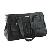 Vanchi Sydney Satchel Changing Bag Black