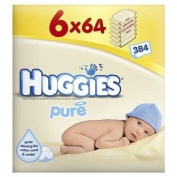 Pure Baby Wipes 6X64