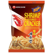 Nong Shim Shrimp Flavoured Chips Hot & Spicy 75g