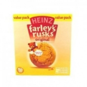 THREE PACKS of Heinz Farley's Original Rusks x 18