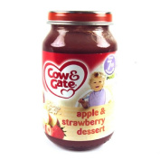 Cow & Gate 7 Month Apple & Strawberry Dessert Jar 200g