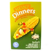 Heinz 7 Month Golden Vegetable & Chicken Packet 100g