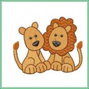 AJPBABYBIBP01405 Embroidered Popover Baby Bib - Noah's Ark