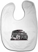 Personalised Koolart VW Transporter T5 Baby Bib