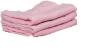BABY PINK X3 100% COTTON MUSLIN SQUARES
