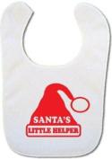 'Santas little helper' Baby bib