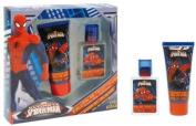 Spiderman Gift Set  Eau De Toillette   25 Ml + Shower Gel 60 Ml