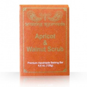 Amazing Ayurveda Premium Handmade Soap- Apricot & Walnut Scrub, 130ml