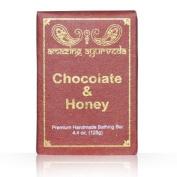 Amazing Ayurveda Premium Handmade Soap- Chocolate & Honey, 130ml