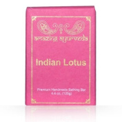 Amazing Ayurveda Premium Handmade Soap- Indian Lotus, 130ml