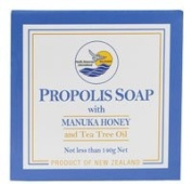 Pacific Resources Propolis Soap with Manuka Honey and Tea Tree Oil -- 140 g