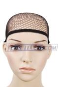 Wig Cap, Mesh Net Liner, Black
