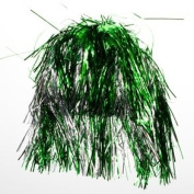 SALE Green and Silver Tinsel Wig SALE