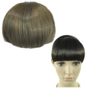 Straight Bangs Smooth Extensions Fringe Wig (Model