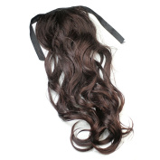 RHX New Girls Long Wave Curly Ponytail Wigs Wig Hairpiece Perruque Periwig HOT