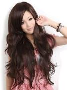 Taobaopit Sexy Women's Long Wavy Wig (Model