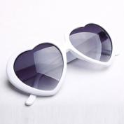 Mordor Women Heart Shaped Plastic Sunglasses Lolita Fashion Eyewear MS