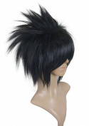 Anangelhair +Free Hair Cap Naruto Uchiha Sasuke Black Short Cos Cosplay Wig Hallowmas