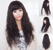 New Style Womens Girls Sexy Long Fashion Full Hair Wig Wavy Curly Cosplay