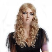 women long blond wigs.fashion.long curly women wig sensationnel wigs wig shops.buy wigs online