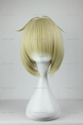 CosplayerWorld Cosplay Wigs Ao no Exorcist Shiemi Moriyama Wig For Convention Party Show Blond Clear35cm 160g WIG-062A
