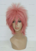 CosplayerWorld Cosplay Wigs Ao no Exorcist shima renzou Wig For Convention Party Show MIx Pink Colour 32cm 150g WIG-023G2