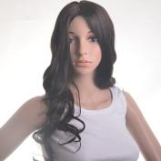 Black Wigs Long Curly Wavy Women Wigs Front Lace Wigs