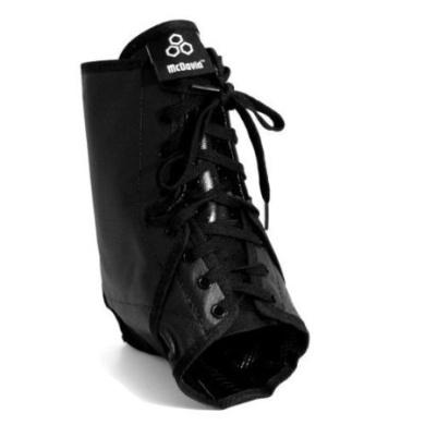 McDavid Lace Ankle Brace Black Small - McDavid A101R-BL-S