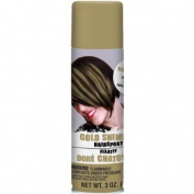 hair spray - shimmer gold