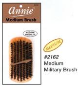 Annie Medium Military Natural Boar Bristle Brush #2162