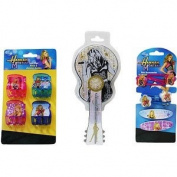 Hannah Montana Silver Guitar Hairbrush and Accessories